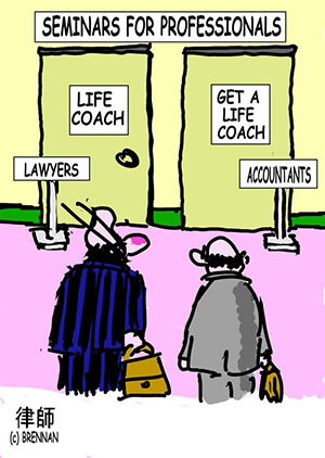 legal cartoon, accountant, lawyer, solicitor, attorney, Paul Brennan