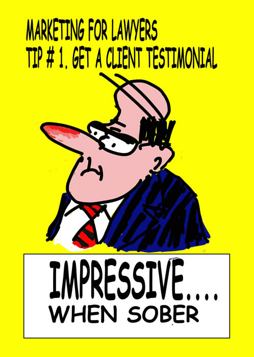 legal cartoon, lawyer, attorney, testimonial, Paul Brennan