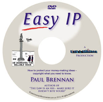 legal DVD on IP by Paul Brennan