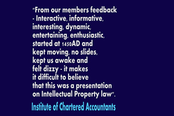Chartered accountants Paul Brennan